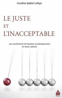 Le juste et l'inacceptable : Les sentiments d'injustice contemporains et leurs raisons