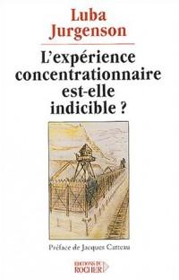 L'Expérience concentrationnaire est-elle indicible ?