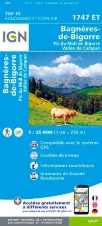 1747ET BAGNERES-DE-BIGORRE PIC DU MIDI DE BIGORRE