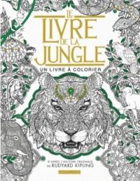 Le livre de la jungle : un livre à colorier