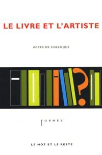 Le livre et l'artiste
