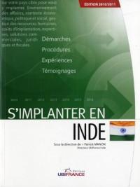 S'implanter en Inde