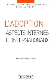 L'adoption : Aspects internes et internationaux