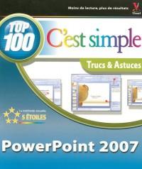 PowerPoint 2007 C'est simple : Trucs et astuces
