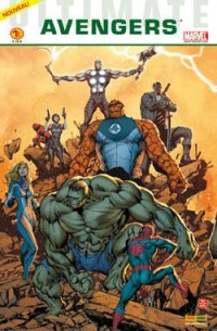 Ultimate avengers 1 cover B