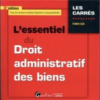L'essentiel du droit administratif des biens