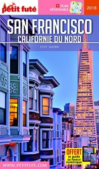 Petit Futé San Francisco Californie du Nord (1Plan détachable)