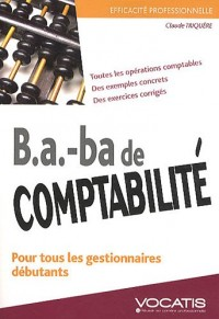 B.A. BA de comptabilité