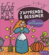 J'apprends à dessiner les princesses : Avec un bloc de papier Canson