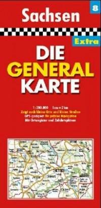 All.8 Sachsen - 1/200.000
