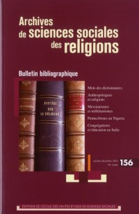 Archives de Sciences Sociales des Religions 156