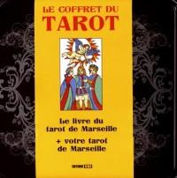 Le coffret du tarot : Le livre du tarot de Marseille avec un jeu de cartes