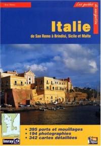 Guide de croisière de San Remo à Brindisi, Sicile et Malte