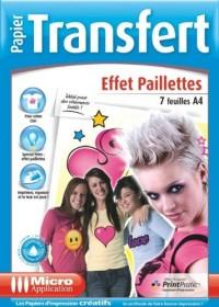 Papier Transfert Effet Paillettes