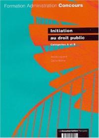 Initiation au droit public : Catégories A et B
