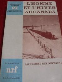 L'homme et l'hiver au canada