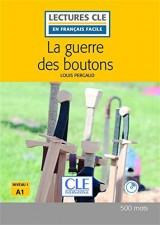 La guerre des boutons - Niveau 1/A1 - Lecture CLE en Français Facile – Livre + CD - 2ème édition [Poche]