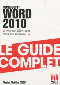 Guide complet Word 2010