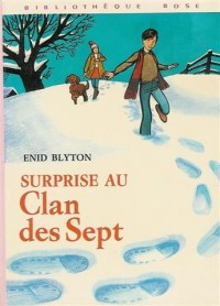 Surprise au clan des sept : Collection : Bibliothèque rose cartonnée & illustrée