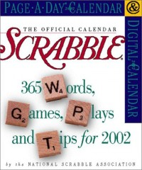 Official Scrabble 2002 Calendar