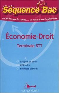 Economie Droit Terminale STT