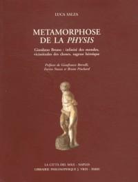 Métamorphose de la Physis : Giordano Bruno : infinité des mondes, vicissitudes des choses, sagesse héroïque