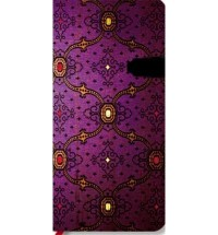 FRENCH ORNATE VIOLET SLIM BY (PAPERBLANKS) DIARY