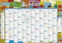 CALENDRIER MURAL NEW YORK 59.4 x 42 cm