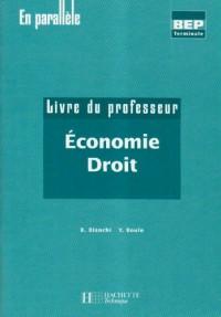 Economie Droit : Livre du professeur