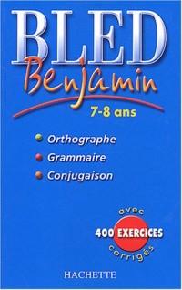 Bled : Benjamin 7-8 ans, édition 2004