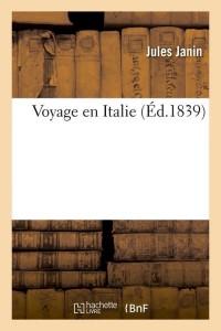 Voyage en Italie  ed 1839