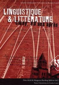 Linguistique et littérature : Cluny, 40 ans après