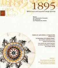 Association française de recherche sur l'hitoire du cinema nø40 juillet 2003 : 1895