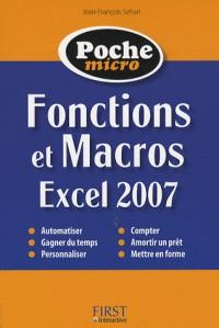 Fonctions et Macros Excel 2007
