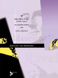 Partitions classique ADVANCE MUSIC RAVEL M. - MA MÈRE L'OYE (MOTHER GOOSE) - 4 SAXOPHONES (SATBAR) Saxophone
