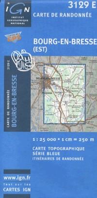 Bourg-en-Bresse (Est) GPS: Ign3129e