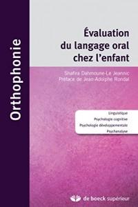 Evaluation du langage oral chez l'enfant