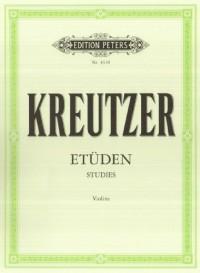42 études (édition Peters) - violon