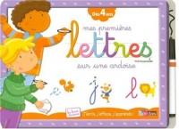 Mes premières Lettres minuscules sur une ardoise : Dès 4 ans