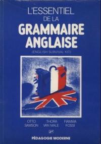 L'essentiel de la grammaire anglaise