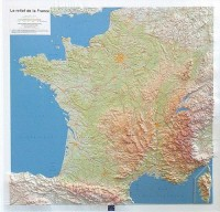 Relief Map France