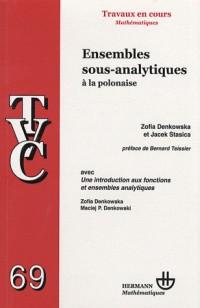 Ensembles sous-analytiques à la polonaise : Avec Une introduction aux fonctions et ensembles analytiques