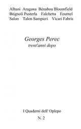 Georges Perec trent'anni dopo