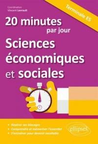 20 minutes par jour de Sciences économiques et sociales - Terminale ES