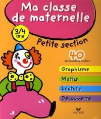 Ma classe de maternelle Petite Section : Avec Paco le clown au cirque