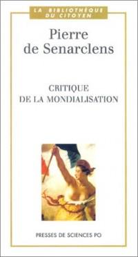 Critique de la Mondialisation