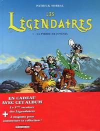 Les Légendaires : Pack en 2 volumes : Tome 1, La pierre de Jovénia ; Tome 5, Coeur du passé