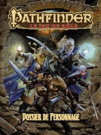 Pathfinder : Dossier Perso 2nd Edition VF JDR Black Book Edition