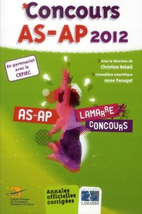 Concours As Ap 2012
