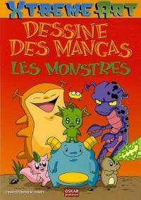 Dessine des Mangas : Les Monstres